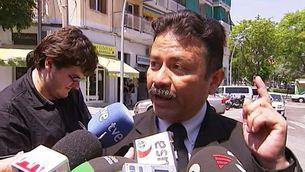 El cònsol equatorià a Barcelona, Freddy Arellana.