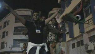 Alegria entre els rebels libis després de la resolució de l'ONU