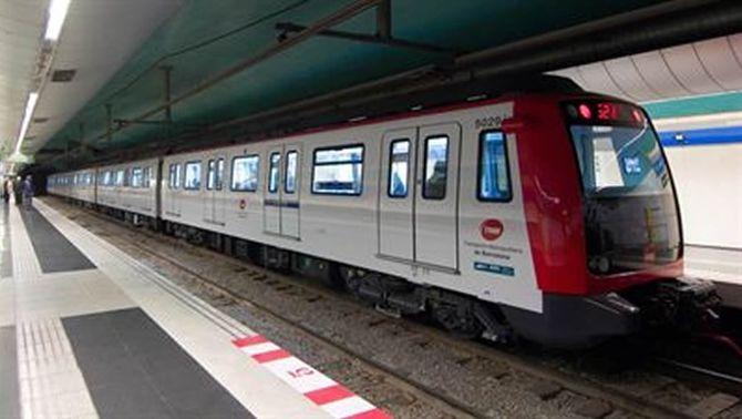 Imatge d'arxiu d'una estació de metro de Barcelona (Foto: TMB)