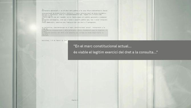Part del manifest dels jutges catalans.