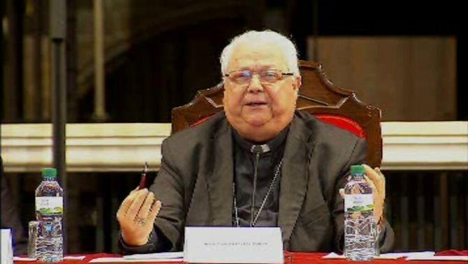 El bisbe de Girona, Francesc Pardo, reprova que l'Agència Tributària comparés Càritas amb el PP