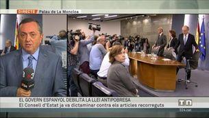 El govern espanyol porta la llei catalana antipobresa al TC
