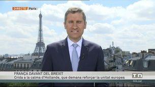 Hollande vol reforçar l'eix francoalemany