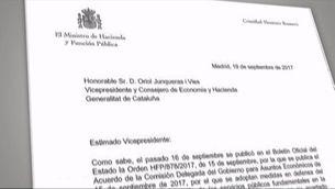 Montoro segueix demanant la llista dels funcionaris per pagar les nòmines
