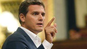 """Albert Rivera indignat perquè """"se celebra una sedició"""" (EFE)"""