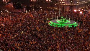 La Junta Electoral dona la raó a TV3 sobre la cobertura de la manifestació a Madrid