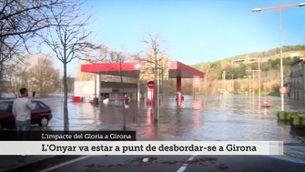 L'impacte del Gloria a Girona, ara fa un any