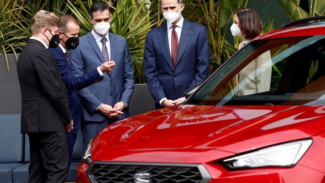 El grup Volkswagen reafirma la seva aposta per fer un cotxe elèctric a Martorell