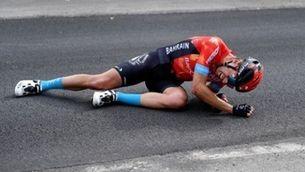 Mikel Landa, un ciclista singular amb qui s'identifica la gent del carrer