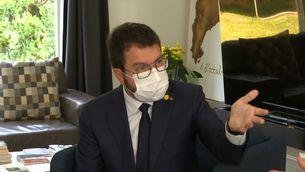 Aragonès visita Puigdemont a Waterloo