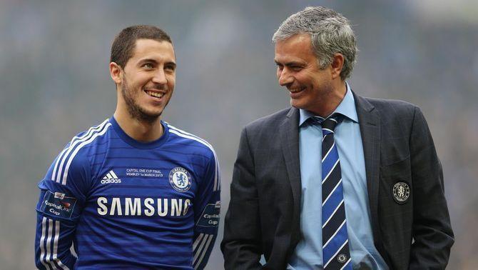 """Mourinho: """"Hazard és un jugador increïble amb un entrenament pèssim"""""""