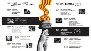 Acord de col·laboració entre la CCMA i el Prosceni el Vendrell per a la difusió de les activitats culturals del Festival Internacional de música Pau Casals del Vendrell i per a l'emissió de concerts