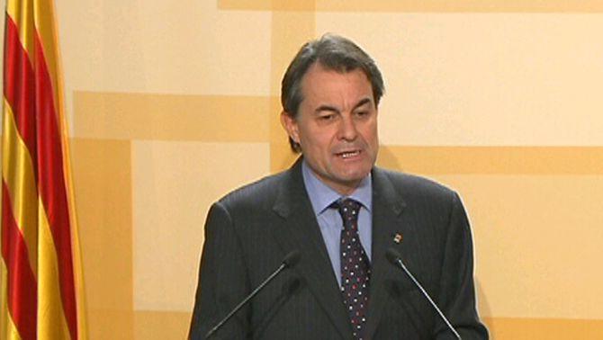 Artur Mas. President de la Generalitat.