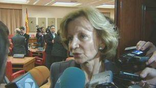 Salgado diu que la Generalitat pot apujar els impostos per recaptar més