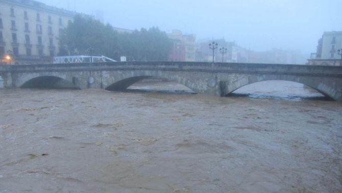 Riu Onyar a Girona. Foto: Sergi Masagué.
