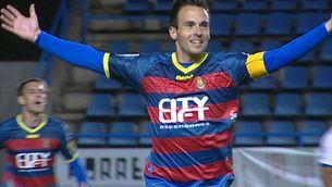 Pitu Comadevall ha estat l'autor dels dos gols del Llagostera