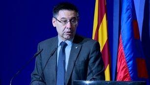 Josep Maria Bartomeu, en una imatge d'arxiu