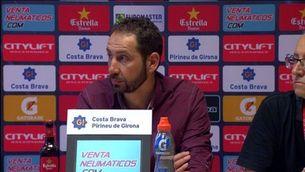 """Pablo Machín: """"L'any passat va ser més cruel que aquest"""""""