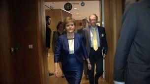 Escòcia, rebuda a Brussel·les