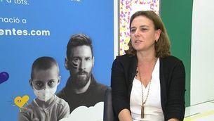 Glòria Garcia explica la repercussió mediàtica del gest de Messi