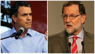 Pedro Sánchez i Mariano Rajoy