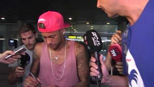 Neymar, ni confirma ni desmenteix