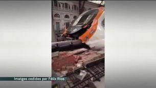 T'expliquem l'accident de tren a l'estació de França, en un minut