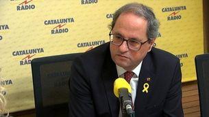 """Quim Torra: """"Hi haurà pressupostos, si hi ha un relator internacional i s'acaba la repressió"""""""