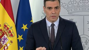 Sánchez allarga l'estat d'alarma fins al 9 de maig però els infants podran sortir a partir del 27 d'abril