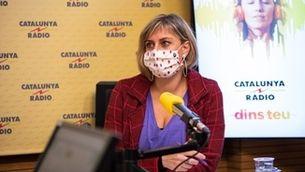 Alba Verges, consellera de salut