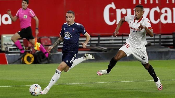 El Sevilla remunta a la segona part i fa dormir el Celta a la zona de descens (4-2)