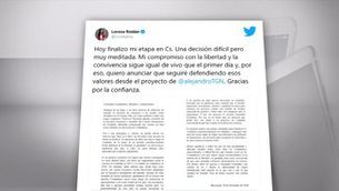 Lorena Roldán abandona Ciutadans i passa al PP