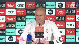 Zidane confia plenament en el seu equip