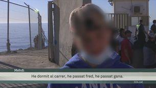 Resisteixen a Ceuta, tot i la gana, el fred i el cansament