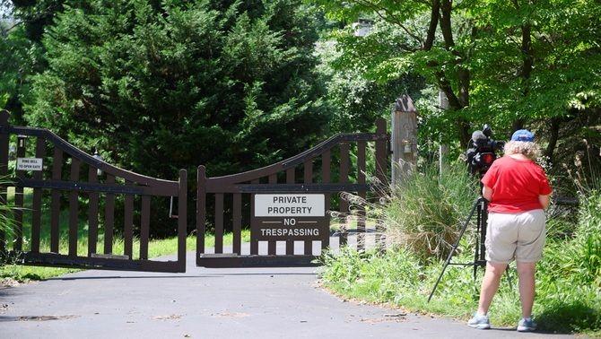 La residència de Bill Cosby a Elkins Park, a Pennsilvània