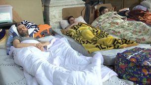 Més d'un mes en vaga de fam a Brussel·les per la regularització dels sense papers