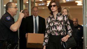 La top model Linda Evangelista en una imatge de l'any 2012, abans de sotmetre's al tractament estètic (Reuters/Andrew Kelly)