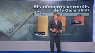 Del 2,17% de dèficit el 2012 a l'1% l'any que ve