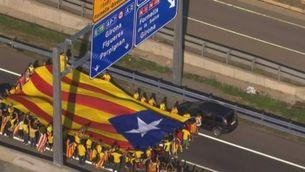 La Via Catalana, des de l'aire
