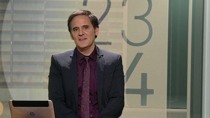 """Agustí Esteve presentador del programa """"2324"""""""
