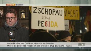 """Manifestació contra la """"islamització"""" d'Alemanya"""
