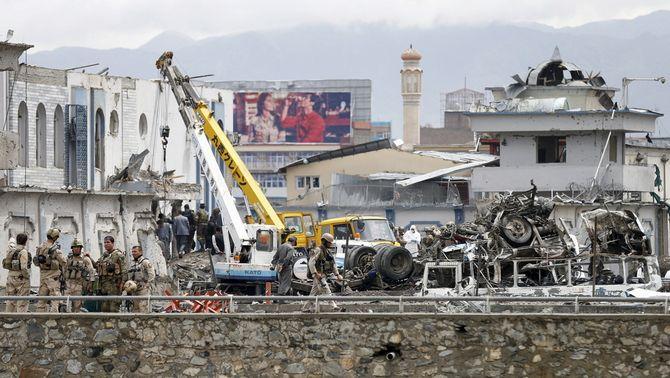 S'eleva a 64 la xifra de morts en l'atemptat suïcida d'aquest dimarts a Kabul