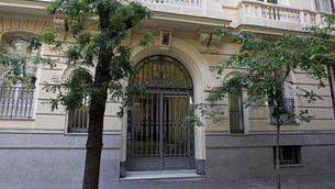 Una de les seus del banc suís Mirabaud a Madrid (EFE)