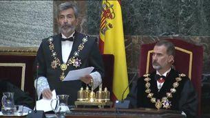 """Lesmes: la unitat d'Espanya és """"la base irreductible de tot el dret de l'estat"""""""
