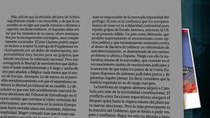 Reaccions de la premsa espanyola a l'alliberament de Puigdemont