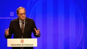 El president de la Generalitat, Quim Torra (EFE/Enric Fontcuberta)