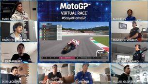 Àlex Márquez domina la cursa virtual de MotoGP