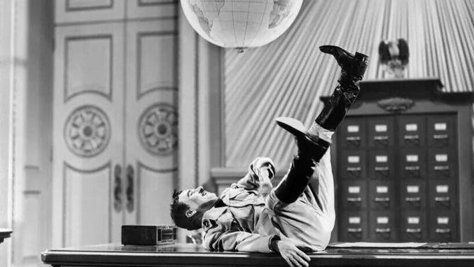 """""""El gran dictador"""" de Chaplin, 80 anys i encara vigent"""