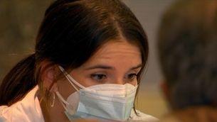 La por per la Covid dispara les peticions per vacunar-se de la grip
