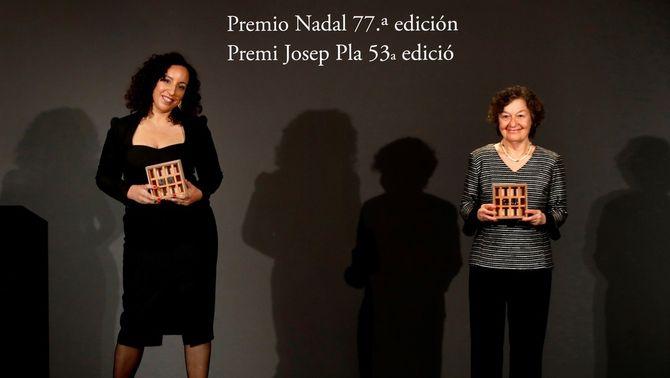 Najat El Hachmi guanya el Premi Nadal de novel·la, i Maria Barbal, el Josep Pla de prosa
